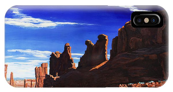 Aztec iPhone Case - Park Avenue At Arches by Timithy L Gordon