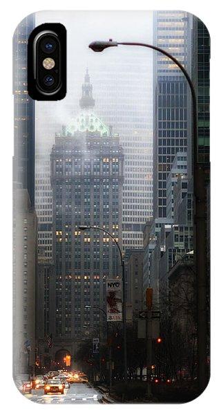 Park Avenue Dawn In Color IPhone Case