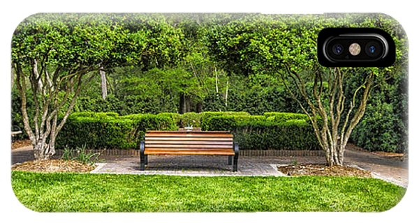 Park Bench IPhone Case