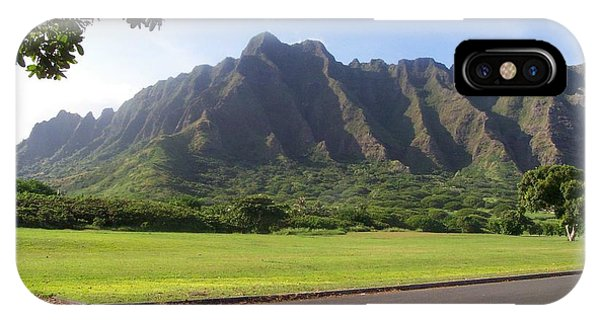 Park On Oahu IPhone Case