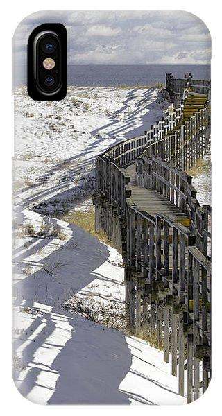Parker River National Wildlife Refuge Boardwalk Plum Island IPhone Case