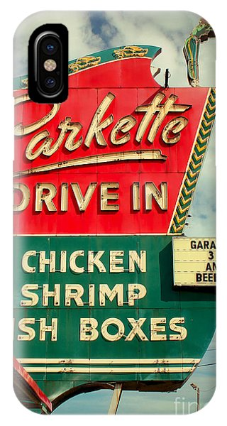 1950s iPhone Case - Parkette Drive-in by Jim Zahniser