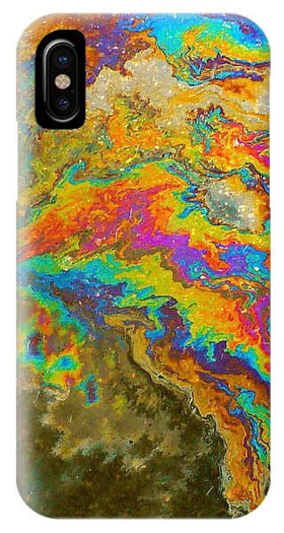 Parking Lot Tie-dye IPhone Case