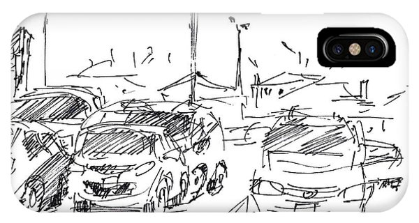 Cities iPhone Case - Parking Lot  by Ylli Haruni