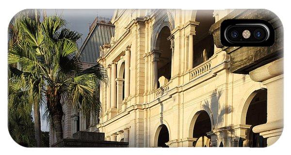 Parlament House In Brisbane Australia IPhone Case