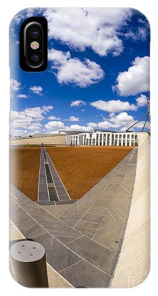 Parliament House Australia IPhone Case