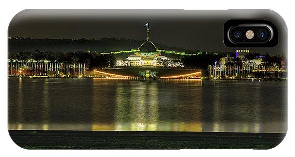 Parliament House  - Canberra - Australia IPhone Case