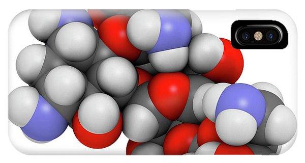 Paromomycin Aminoglycoside Antibiotic Phone Case by Molekuul