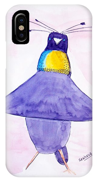Parotia Dancing - Bird Of Paradise IPhone Case