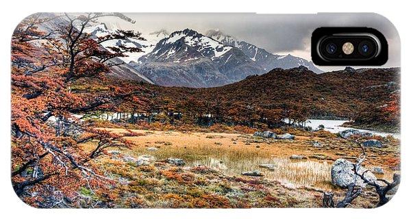 Parque Nacional Los Glaciares Phone Case by Roman St