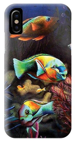 Parrot Fish IPhone Case