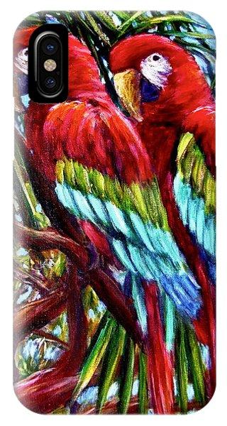 Parrot Pals Phone Case by Sebastian Pierre