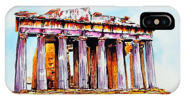Parthenon IPhone Case