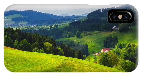 Partly Sunny At Black Forest IPhone Case