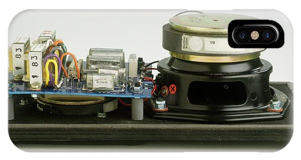 Parts Of A Loudspeaker IPhone Case