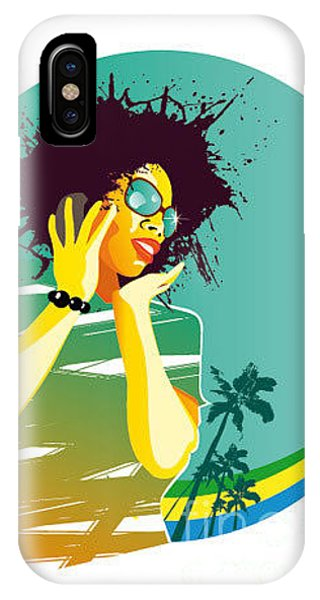 Luxury iPhone Case - Party Brasil by Visualrocks