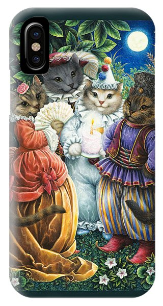 Party Cats IPhone Case