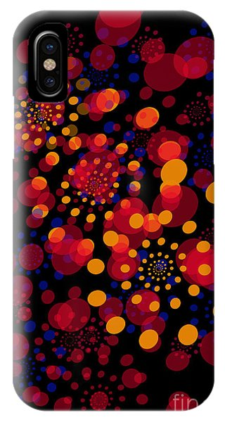Party Time Abstract Painting IPhone Case