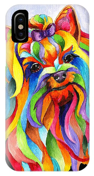 Party Yorky IPhone Case
