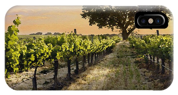 Paso Vineyard  IPhone Case