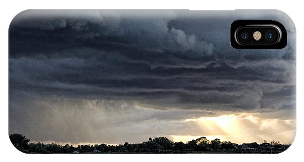 Passing Storm Phone Case by Heather Provan