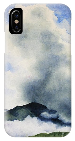 Passing Storm On Mt. Diablo IPhone Case