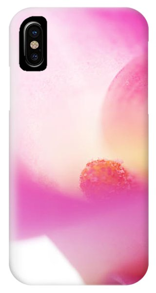 Passion For Flowers. Pink Veil IPhone Case