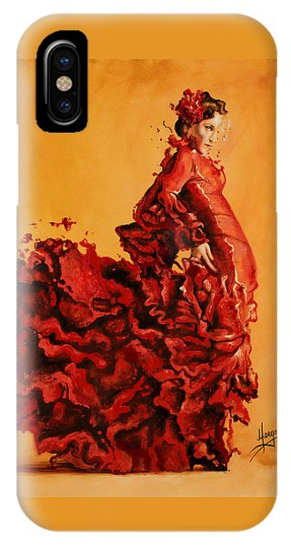 Dance iPhone Case - Passion by Karina Llergo