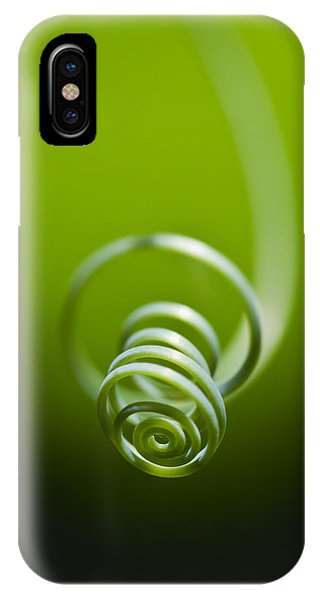Passionflower Tendril IPhone Case