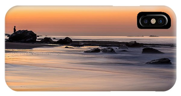 Past Meets Present By Denise Dube IPhone Case