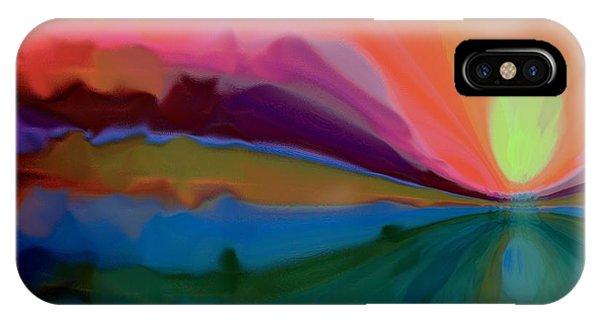 Pastel Dusk IPhone Case