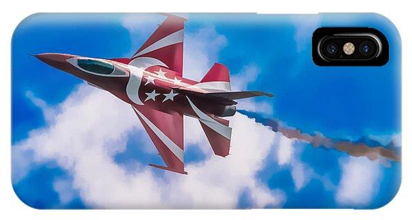 Pastel F-16 IPhone Case