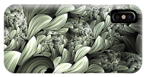 Pastel Garden Abstract IPhone Case