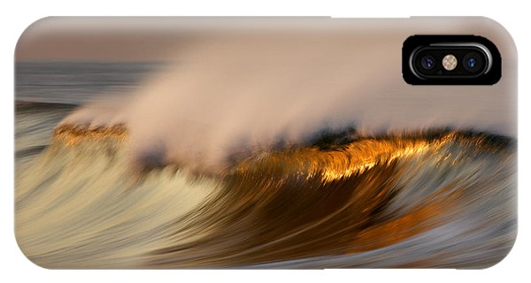 Pastel Gold Wave  Mg9082 IPhone Case
