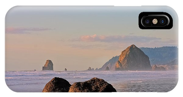 Pastel Haystack Rock IPhone Case