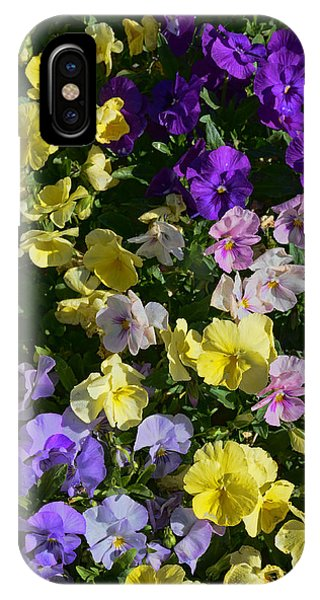 Pastel Pansies IPhone Case