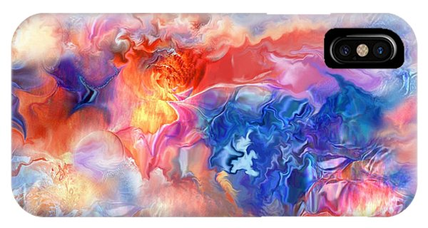 Pastel Storm By Spano  IPhone Case