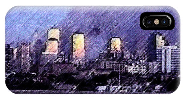 Pastel Sunset On Ground Zero IPhone Case