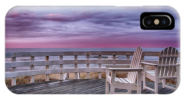 Pastel Sunset View IPhone Case