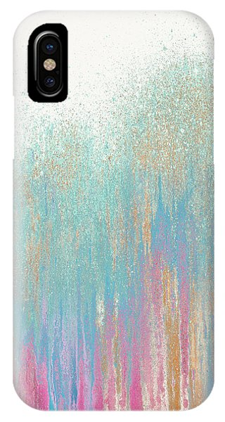 Teal iPhone Case - Pastel Teal Woods by Roberto Gonzalez