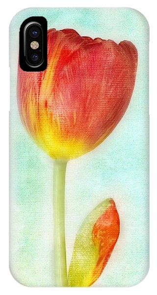 Pastel Tulip IPhone Case