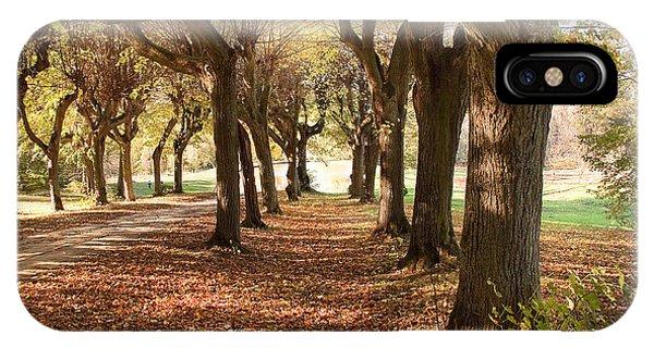 Path 1- Ostromecko Gardens IPhone Case