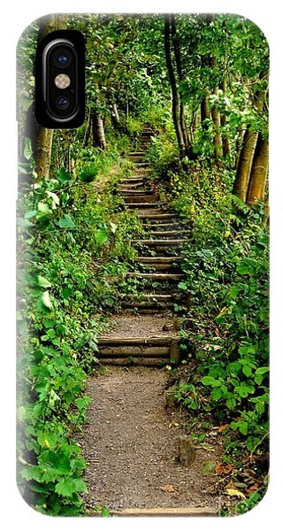 Path Into The Forest IPhone Case