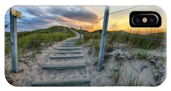 Path Over The Dunes IPhone Case