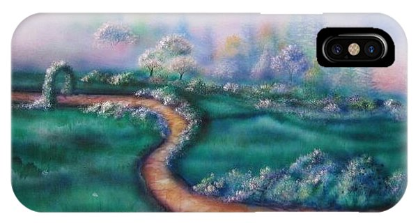Path To Glory Panel 2 Phone Case by Kendra Sorum