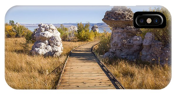 IPhone Case featuring the photograph Path To Mono Lake by Priya Ghose