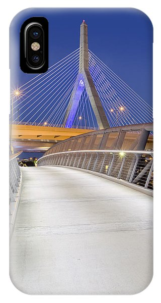 Zakim Bridge iPhone Case - Path To The Zakim Bridge by Susan Candelario