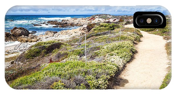 IPhone Case featuring the photograph Pathway At Asilomar State Beach by Priya Ghose