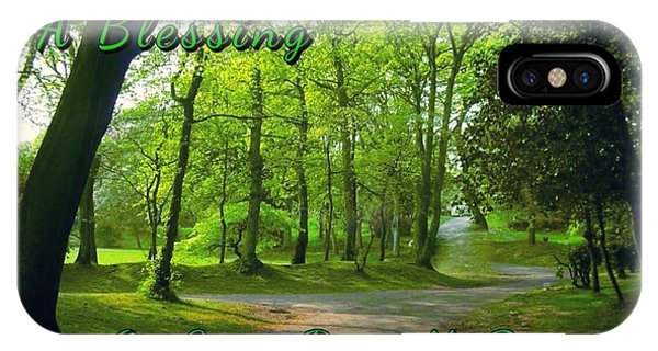 Pathway Saint Patrick's Day Greeting IPhone Case