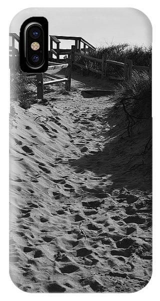 Pathway Through The Dunes IPhone Case
